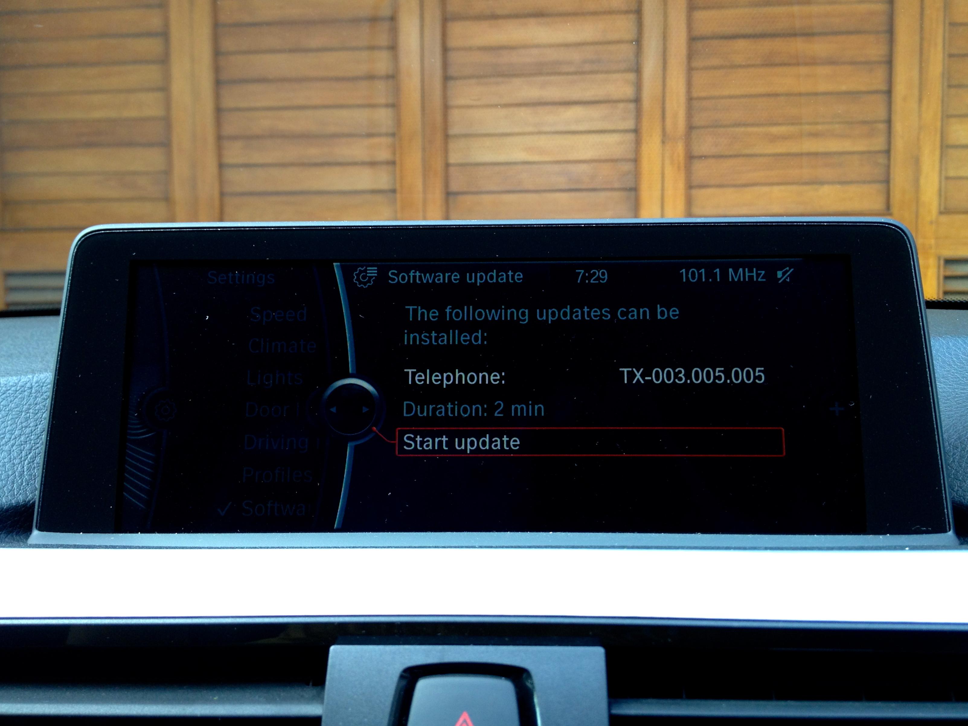 Updating BMW 2012 F30 iDrive Software – Andri Yadi