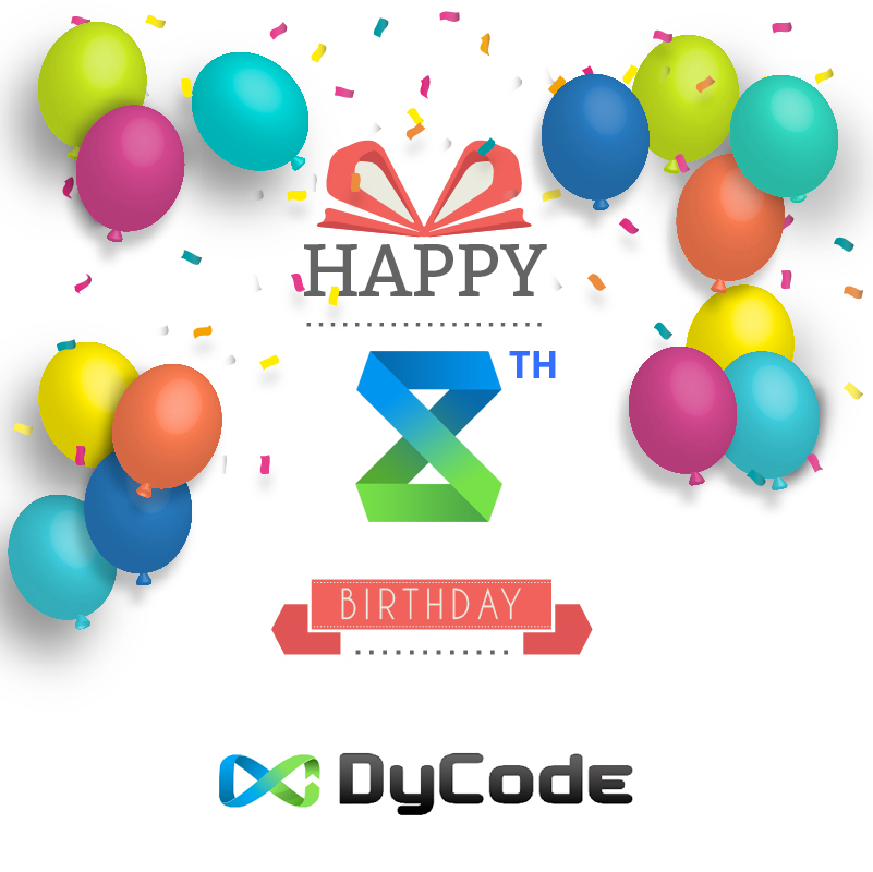 DyCode's 8th birthday