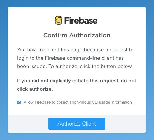 Firebase Login